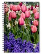Tulips And Friends Spiral Notebook