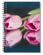 Tulips And Reflections Spiral Notebook