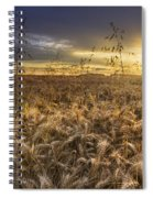 Tumble Wheat Spiral Notebook