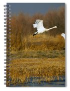 Tundra Flight Spiral Notebook