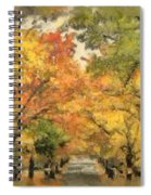 Tunnel Of Color Spiral Notebook