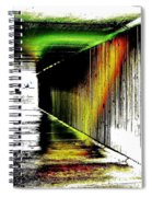 Tunnel Of Colour Spiral Notebook