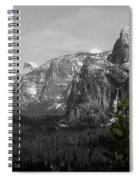 Tunnel View Selective Color Spiral Notebook