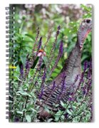 Turkey Flowers Spiral Notebook
