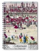 Turkey: Istanbul, C1820s Spiral Notebook