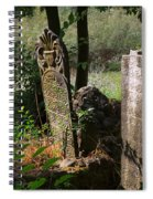 Turkish Cemetery In Rural Mugla Province Spiral Notebook