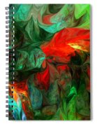 Turmoil  And Frustration Spiral Notebook