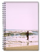 Turquoise Bathing Suit Spiral Notebook