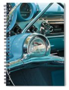 Turquoise Belair Spiral Notebook