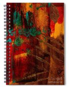 Turquoise Mountains Spiral Notebook