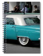 Turquoise Thunderbird Spiral Notebook