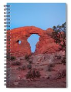 Turret At Sunrise Spiral Notebook