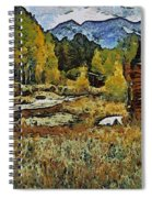 Turrett - Homage Vangogh Spiral Notebook