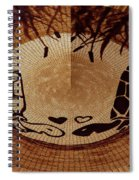 Turtles Love Digital Artwork Spiral Notebook