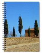 Tuscan House  I Cipressini/italy/europe  Spiral Notebook