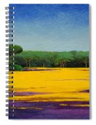 Tuscan Landcape Spiral Notebook