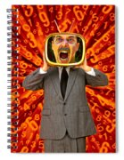 Tv Man Spiral Notebook