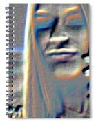 Tv Woman Spiral Notebook
