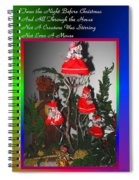 Twas The Night Before Christmas Spiral Notebook