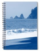 Twilight Blue Spiral Notebook