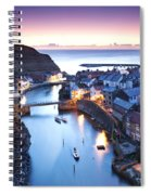 Twilight Glow Staithes Spiral Notebook