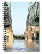Twin Bridges Spiral Notebook