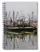 Twin Fishing Boats Spiral Notebook