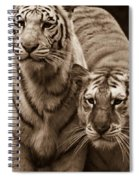 Twins Of India Spiral Notebook