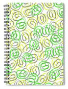Twirls Spiral Notebook