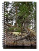 Twisted Pine Spiral Notebook