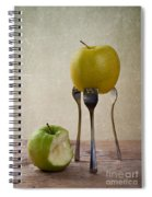 Two Apples Spiral Notebook