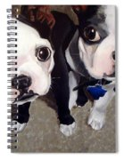 Two Bossies Spiral Notebook