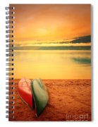 Two Canoes Spiral Notebook