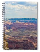 Two Crows Watch Over The Canyon Spiral Notebook