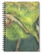 Two Dancers Relaxing Spiral Notebook