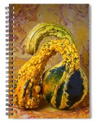 Two Gourds Spiral Notebook
