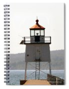 Two Harbors Lighthouse Spiral Notebook