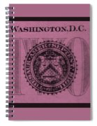 Two In Light Pink Spiral Notebook