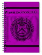Two In Purple Spiral Notebook