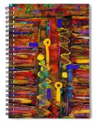 Two Keyholes Spiral Notebook