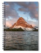 Two Medicine Dawn Panorama Spiral Notebook