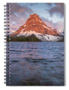Two Medicine Lake Panorama Spiral Notebook