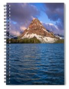 Two Medicine Morning Panorama Spiral Notebook