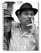 Two Men In Ubud Spiral Notebook