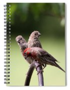 Two Offspring Spiral Notebook