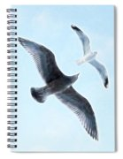 Two Seagulls Spiral Notebook
