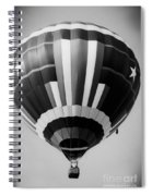 Two Star Balloon Spiral Notebook