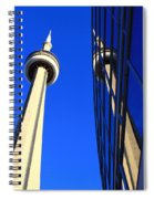 Two Towers Spiral Notebook