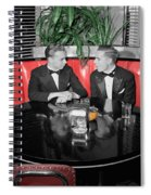Two Tuxedos Spiral Notebook