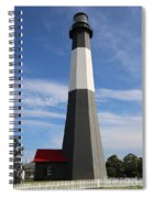 Tybee Island Lighthouse On Beautiful Day Spiral Notebook